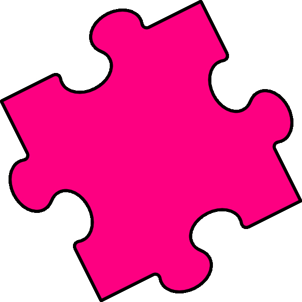Large Puzzle Piece Template Luxury Free Puzzle Piece Clip Art Clipart Best