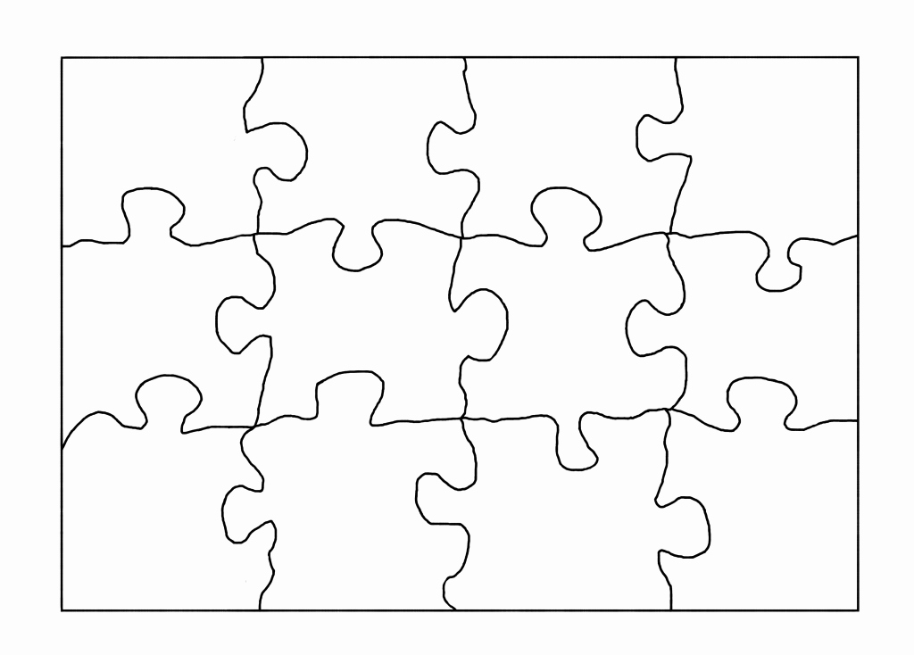 Large Puzzle Piece Template New Reading Tip Raising A Well Read Child