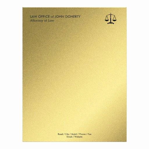 Law Firm Letterhead Templates Elegant Law Office Letterhead