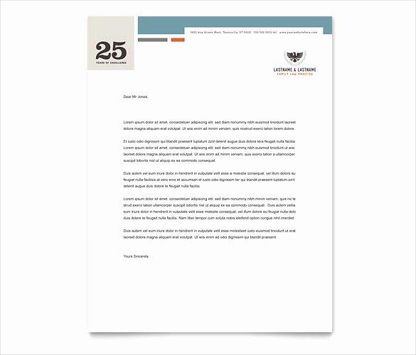 Law Firm Letterhead Templates Elegant Legal Letterhead