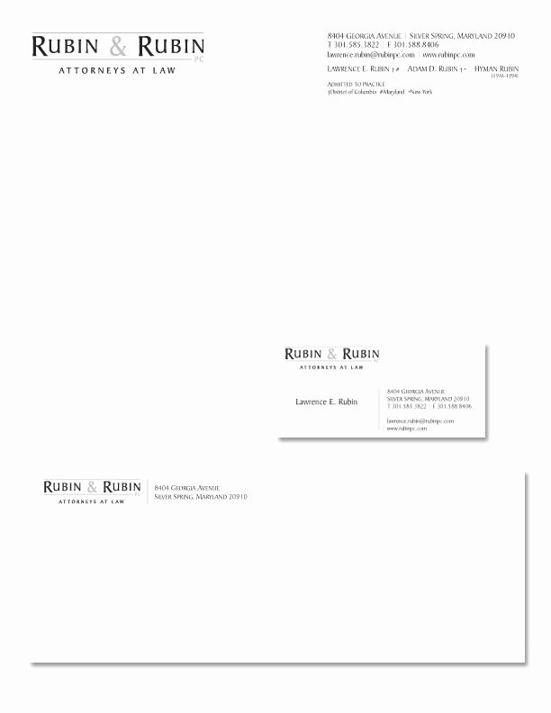 Law Firm Letterhead Templates Fresh Stationery Design Job – Law Firm Logo and Stationary