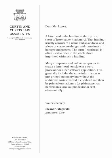 Law Firm Letterhead Templates Inspirational Customize 30 Law Firm Letterhead Templates Online Canva