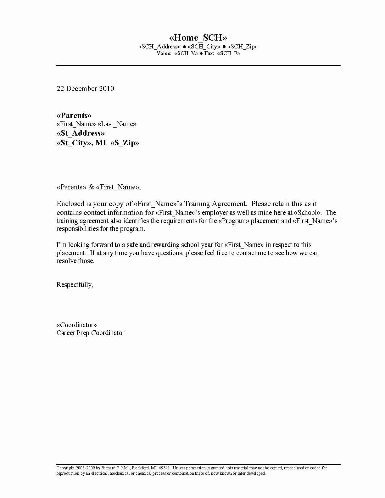 Letter Of Agreement Template Free Best Of Free Printable Letter Of Agreement form Generic