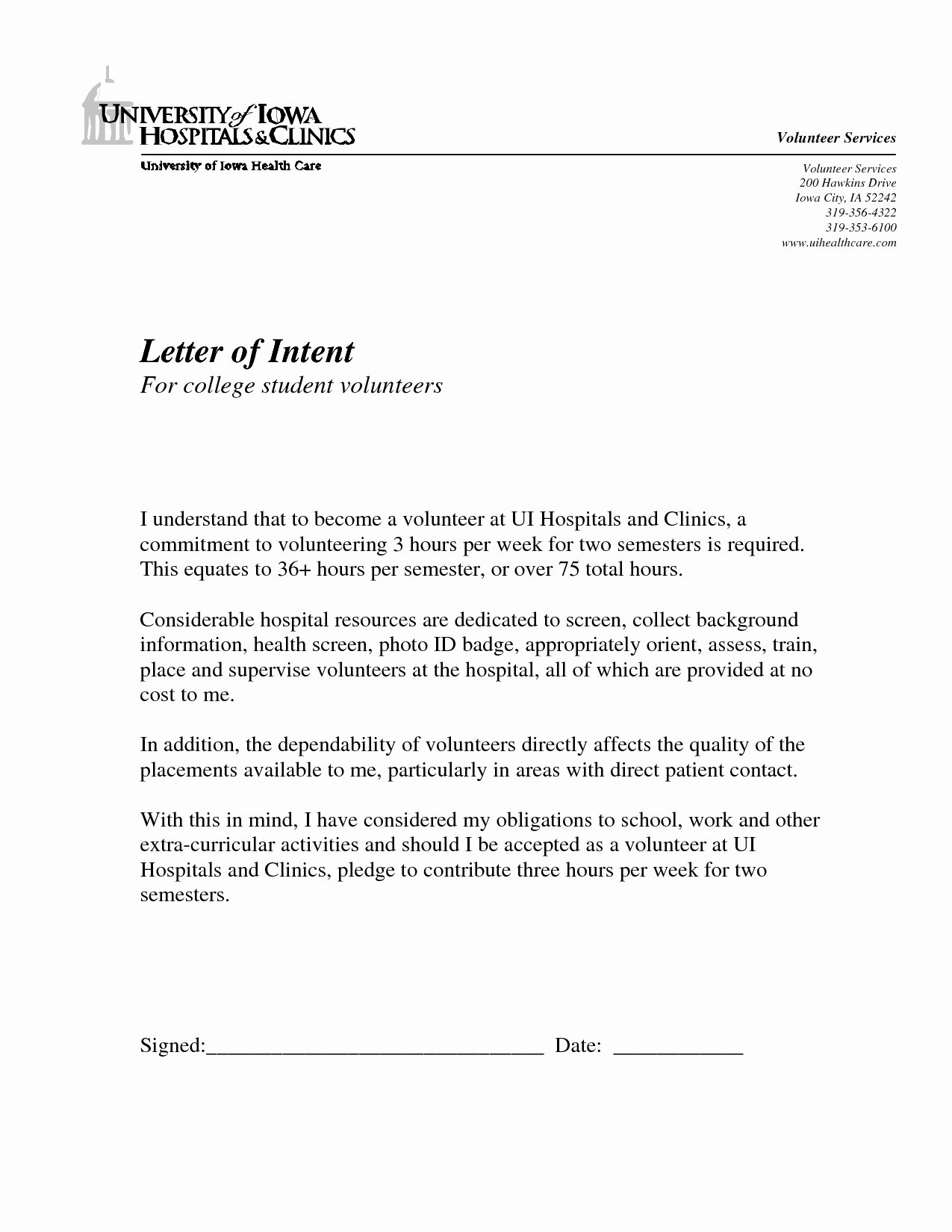 Letter Of Intent Template Awesome Homeschool Letter Intent Template Collection