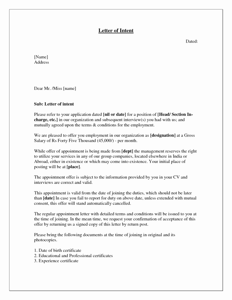 Letter Of Interest Templates New Cover Letter Super Sample Letter Interest for Position