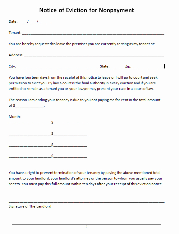 Letters Of Eviction Template Best Of 47 Eviction Notice Templates & Sample Letters Free