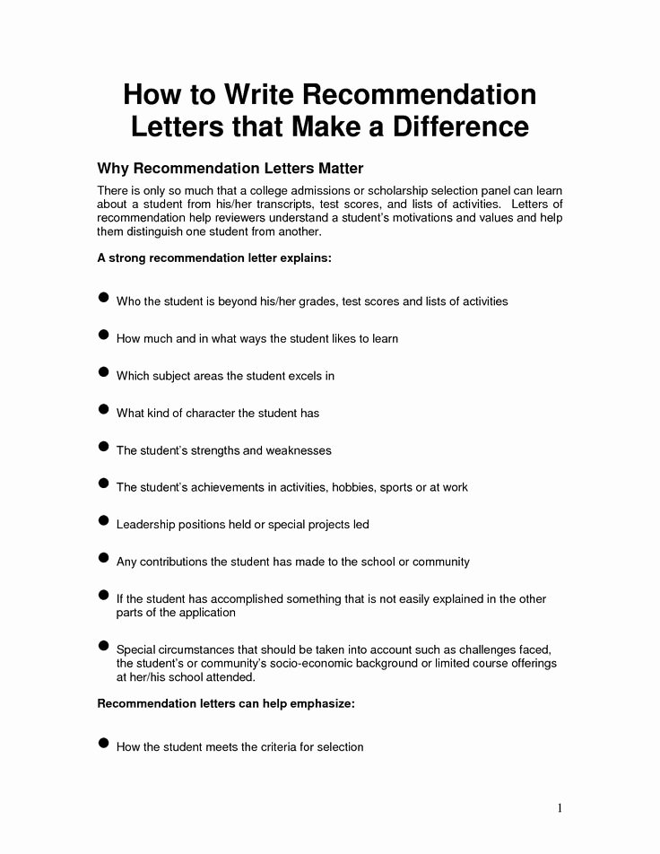 Letters Of Recommendation Template Lovely Free Letter Of Reference Template