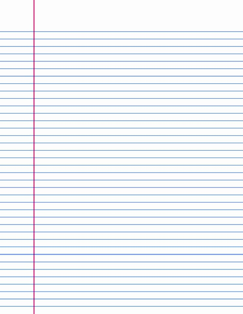 Lined Paper Template Pdf Awesome 14 Lined Paper Templates Excel Pdf formats