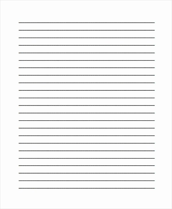 Lined Paper Template Pdf Beautiful 25 Free Lined Paper Templates