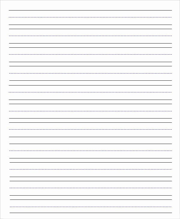 Lined Paper Template Pdf Elegant 14 Lined Paper Templates In Pdf