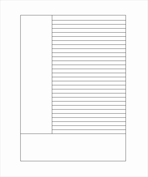Lined Paper Template Pdf Luxury Free 11 Lined Paper Templates In Pdf