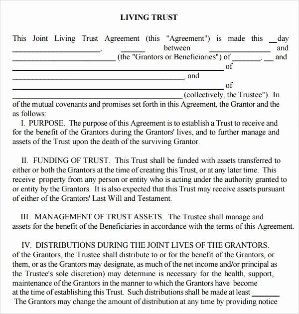 Living Will Template Pdf Fresh Free 8 Sample Living Wills In Pdf