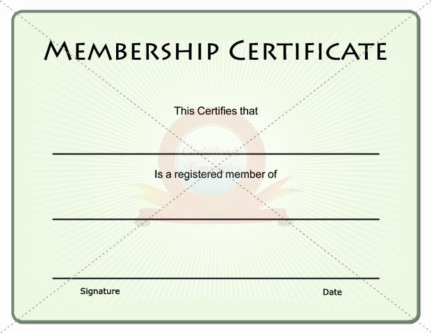 Llc Member Certificate Template Best Of 15 Best Images About Membership Certificate Template On