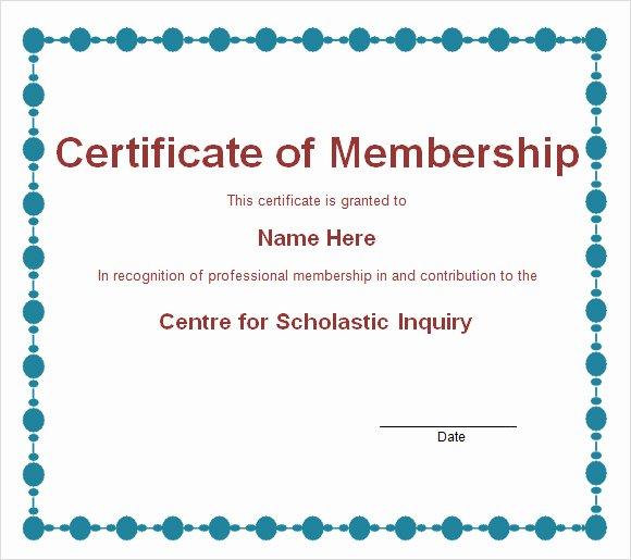 Llc Member Certificate Template Best Of Membership Certificate Template 15 Free Sample Example