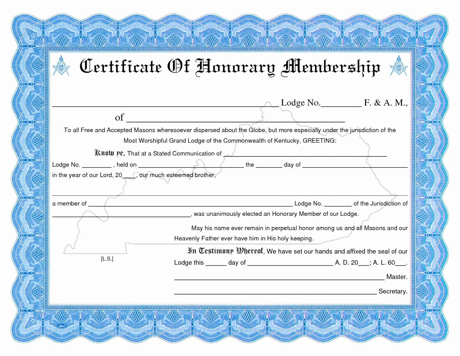 Llc Member Certificate Template New Editable Membership Certificate Template Llc New Church