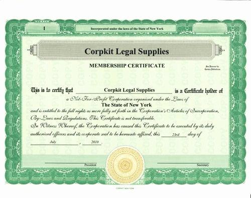 Llc Member Certificate Template Unique Stock Certificates