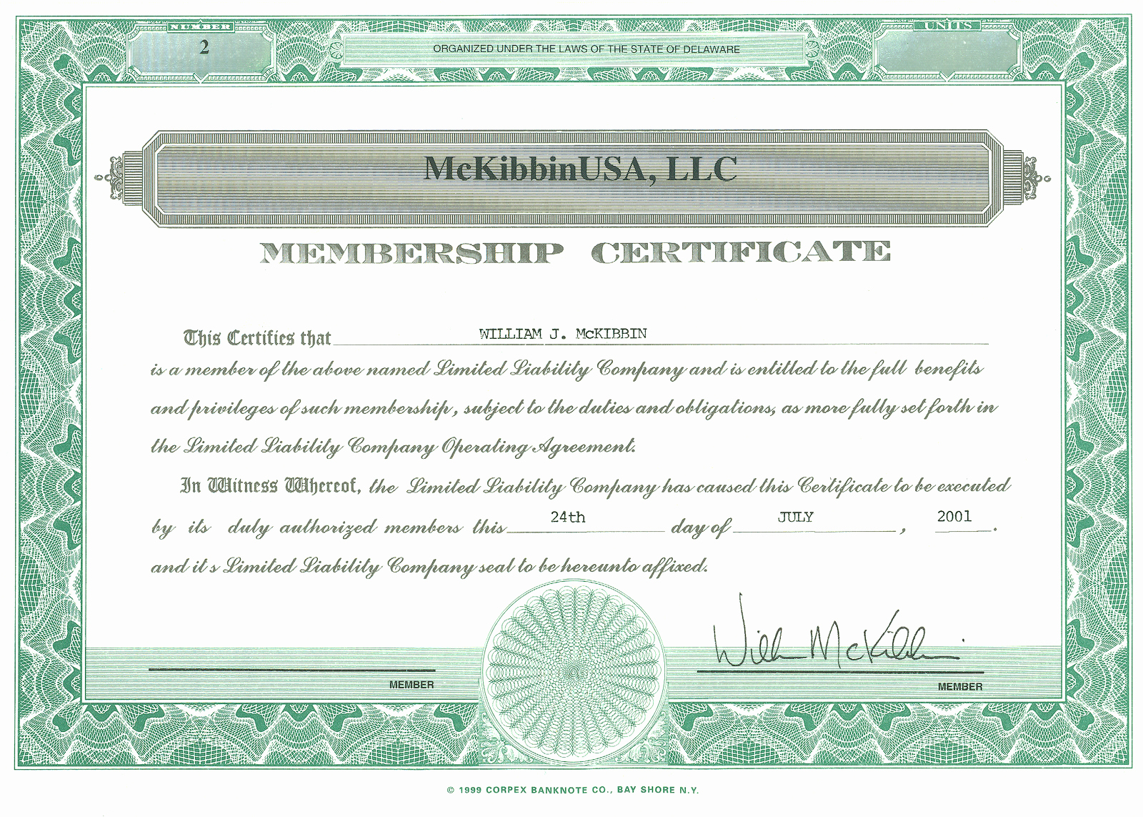 Llc Membership Certificates Templates Best Of the Vantage Point the Best Investment Ever