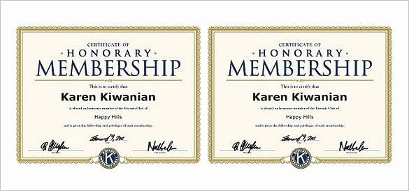 Llc Membership Certificates Templates Luxury 15 Membership Certificate Template Free Download