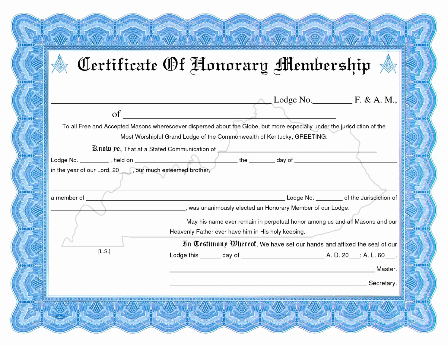 Llc Membership Certificates Templates Unique Editable Membership Certificate Template Llc New Church