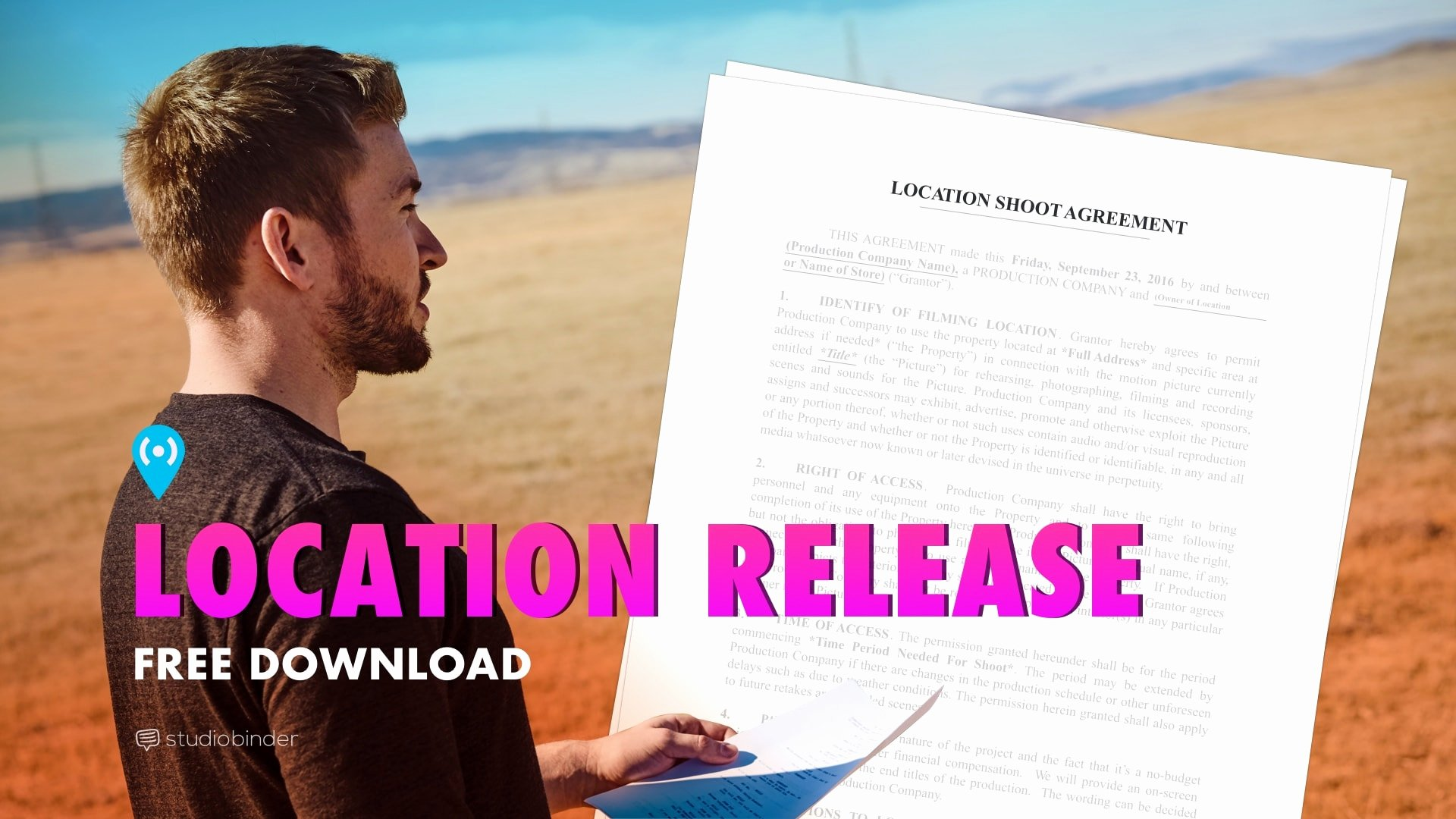 Location Release form Template Luxury Download Free Location Release form Template