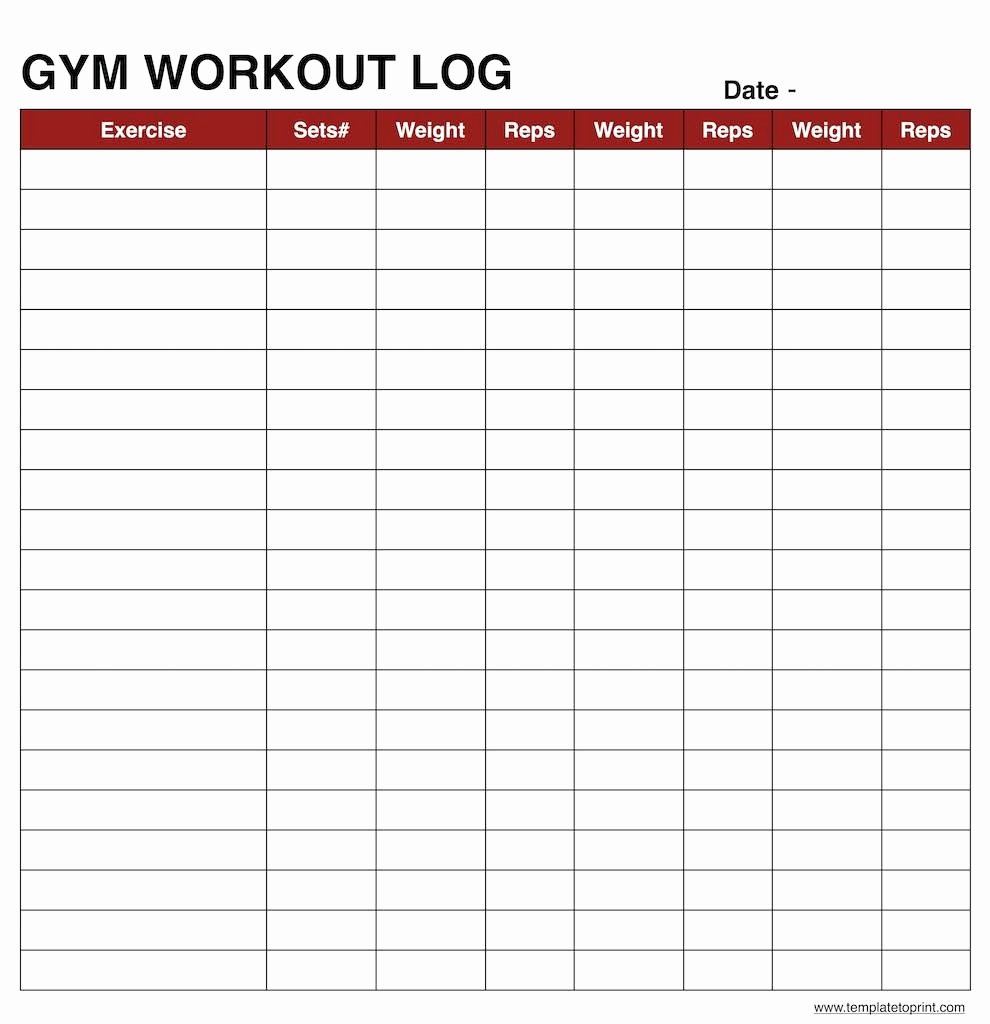 Log Sheet Template Excel Beautiful Workout Log Book Sheet Excel Example Spreadsheet