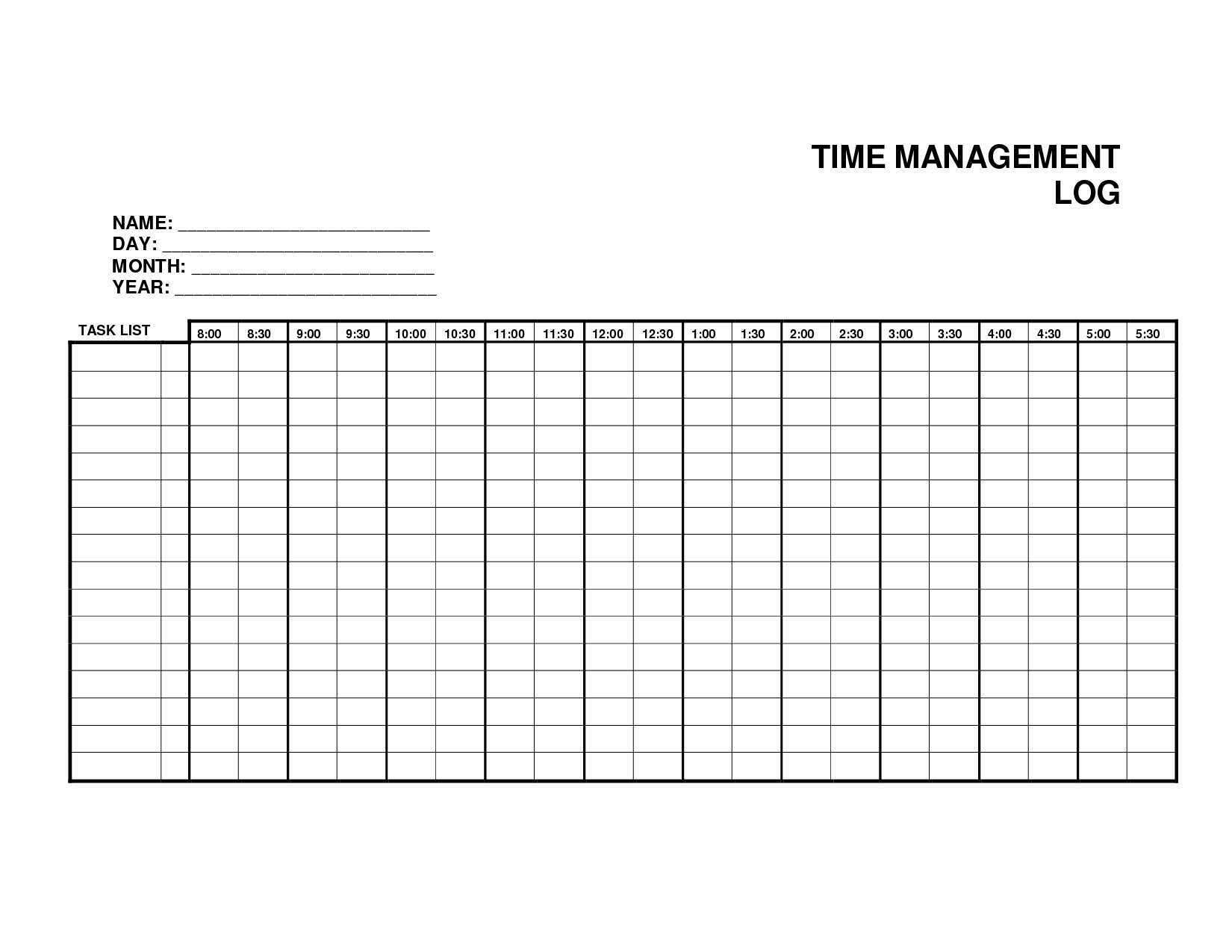 Log Sheet Template Excel Inspirational 5 Log Sheet Templates formats Examples In Word Excel