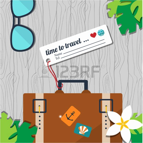 Luggage Name Tag Template Inspirational 10 Luggage Tag Templates