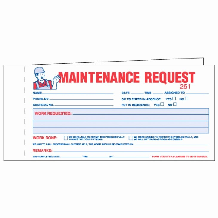 Maintenance Work order Template Excel Awesome Maintenance Work order forms Keeps Track Of Maintenance