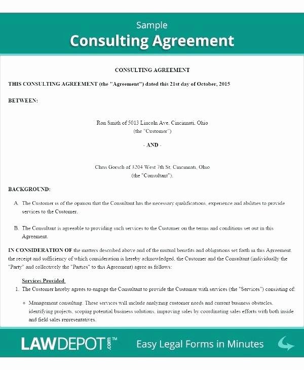 Marketing Consultant Contract Template Best Of Marketing Consultant Contract Template – Afflicktedfo