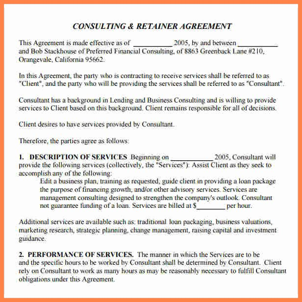 Marketing Consultant Contract Template Lovely 5 Marketing Consulting Agreement Template