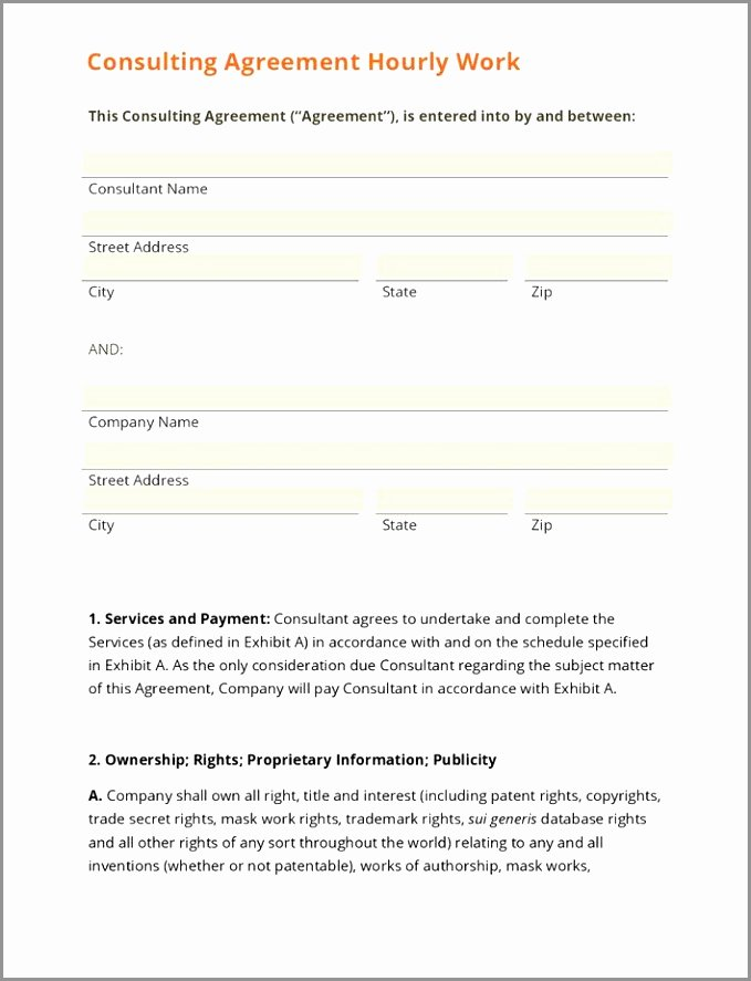 Marketing Consultant Contract Template Luxury event Planner Contract M… Design Marketing Consultant
