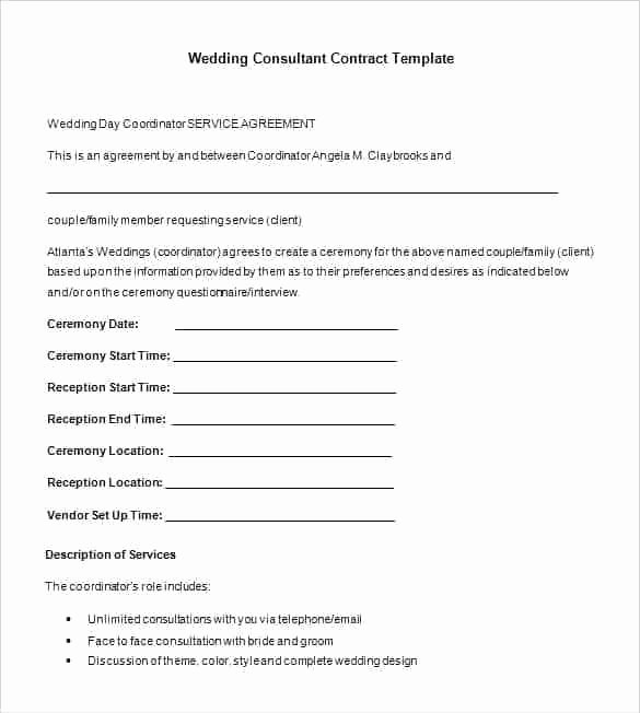 Marketing Consultant Contract Template New Freelance Marketing Contract Template – Cadldg