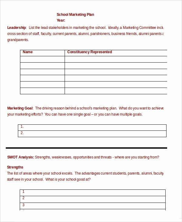 Marketing Plan Template Word Beautiful Marketing Plan Template 30 Free Word Excel Pdf Ppt