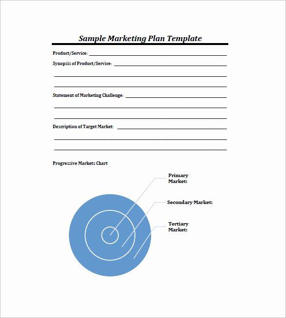 Marketing Plan Template Word Elegant 22 Simple Marketing Plan Templates Doc Pdf