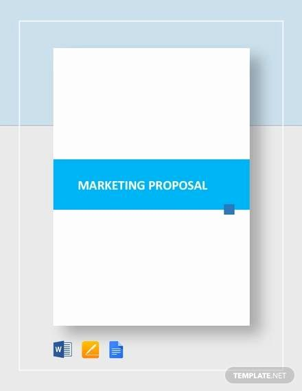 Marketing Proposal Template Word Awesome Sample Marketing Proposal Template 24 Documents In Pdf