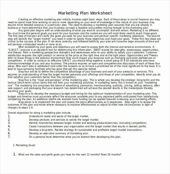 Marketing Proposal Template Word Inspirational 31 Microsoft Word Marketing Plan Templates