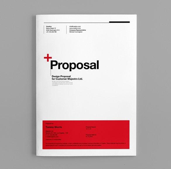 Marketing Proposal Template Word New 31 Proposal Templates Doc Pdf