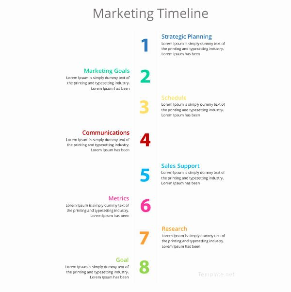 Marketing Timeline Template Excel Beautiful Timeline Template 67 Free Word Excel Pdf Ppt Psd