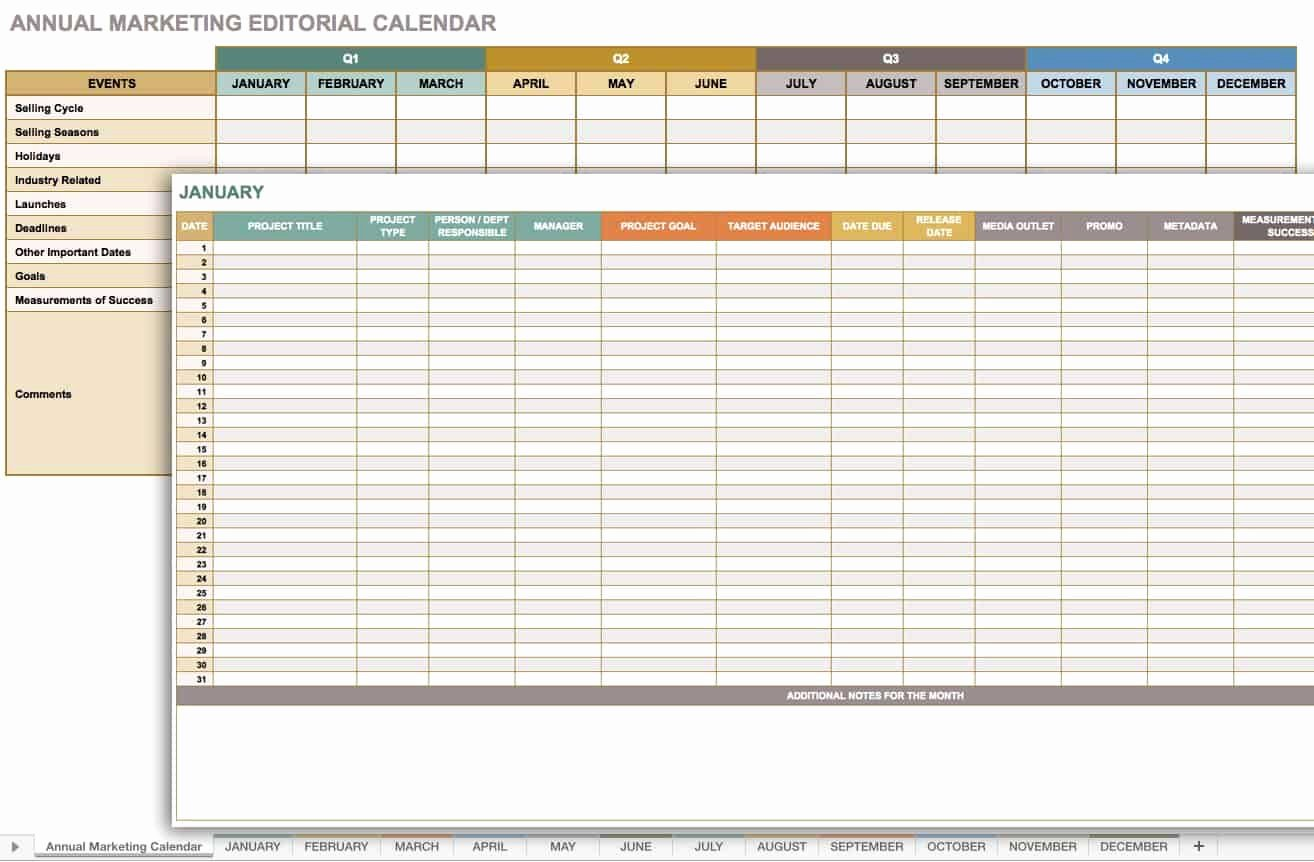 Marketing Timeline Template Excel Best Of Free Marketing Timeline Tips and Templates Smartsheet