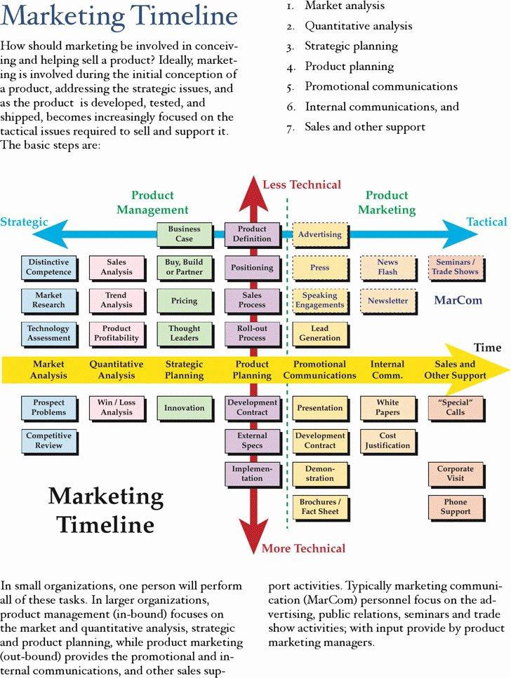 Marketing Timeline Template Excel Luxury 6 Marketing Timeline Template Free Download