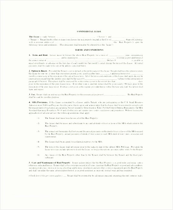 Master Lease Agreement Template Best Of 7 Lease to Own Agreement Template