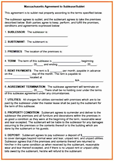 Master Lease Agreement Template Elegant 9 Master Lease Agreement Template Owaip