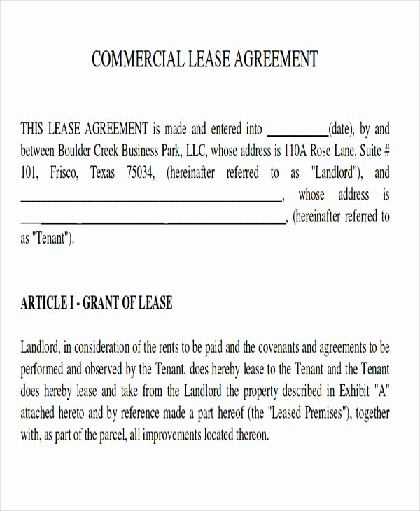 Master Lease Agreement Template Inspirational 8 Master Lease Agreement Sample Examples In Word Pdf