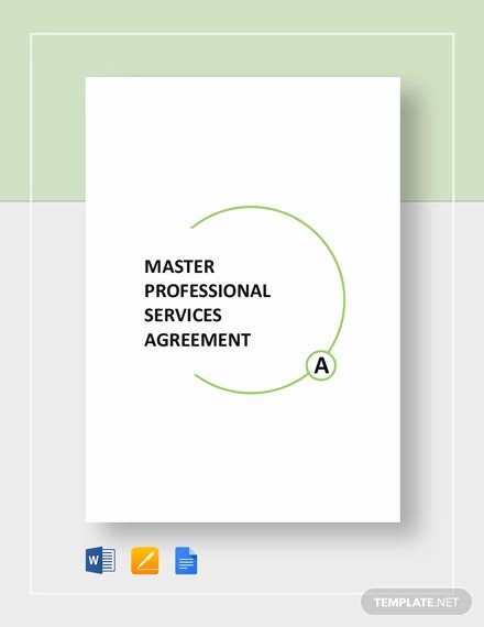 Master Services Agreement Template Best Of 28 Professional Services Agreement Examples Pdf Word