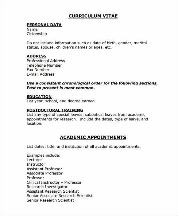 Medical Cv Template Word Beautiful Sample Medical Cv Template 7 Download Documents In Pdf