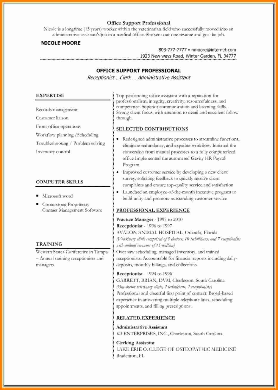 5 medical resume templates microsoft word