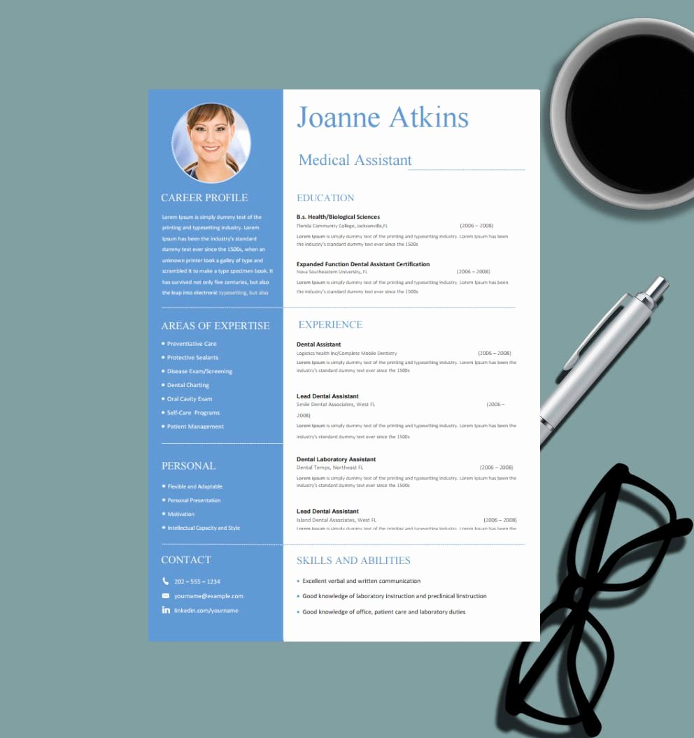 Medical Cv Template Word New Medical Resume Template for Ms Word Nurse Resume Design