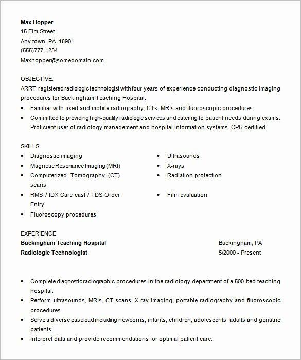 Medical Cv Template Word Unique 5 Medical assistant Resume Templates Doc Pdf