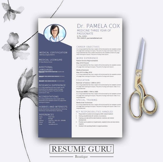 Medical Cv Template Word Unique Medical Resume Template Cover Letter for Ms Word Best Cv