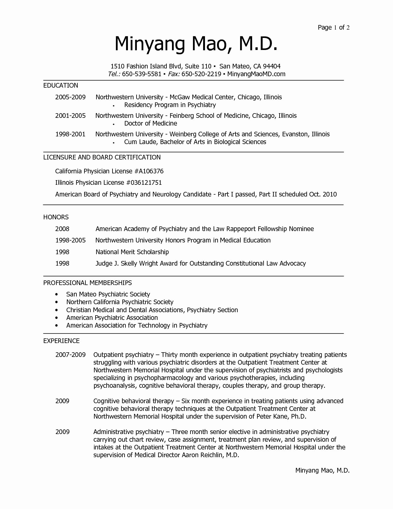 Medical Resume Template Free Luxury Medical School Resume Template Medical School Resume